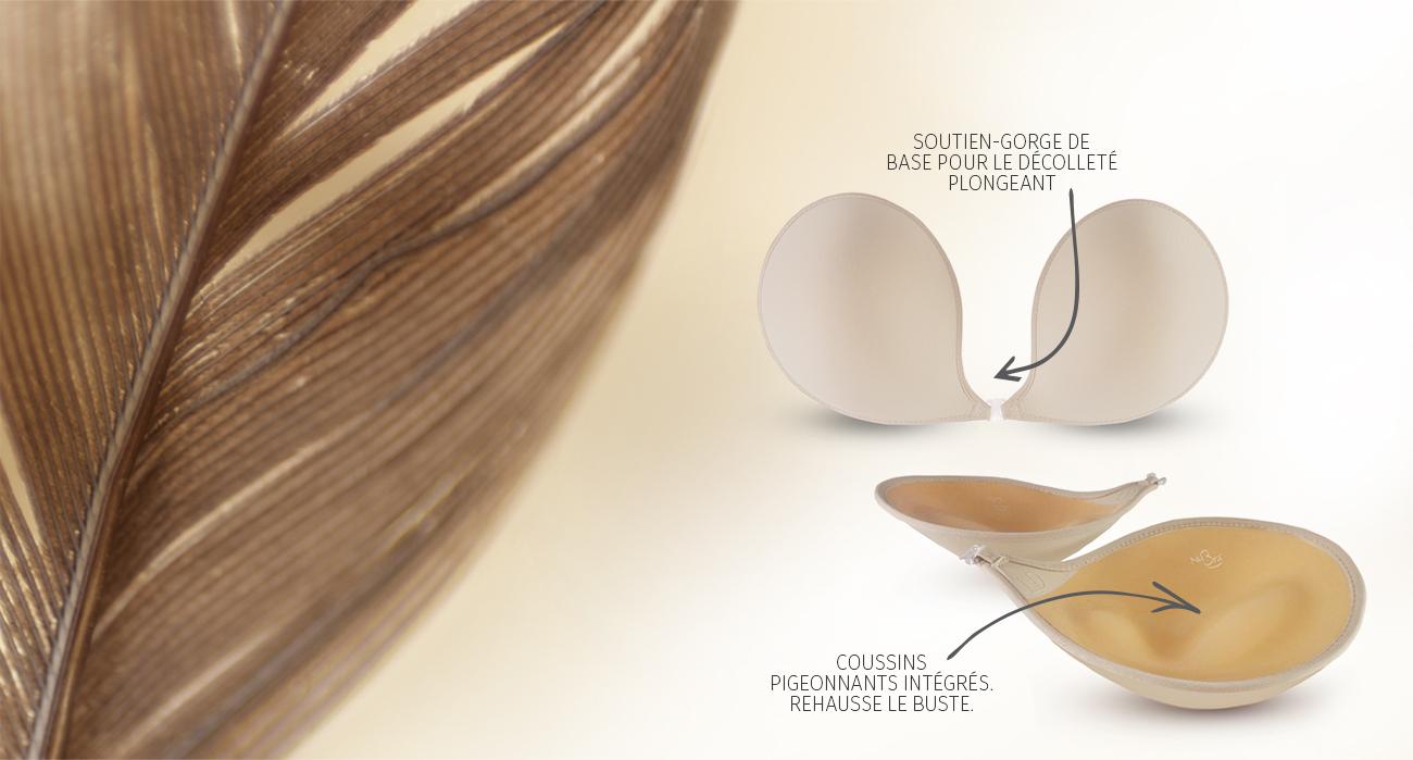 Nouveau! Feather-Lite pigeonnant et plongeant